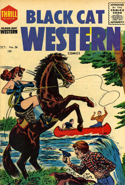 Cover for Black Cat (Harvey, 1946 series) #56