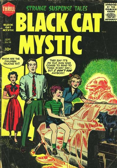 Cover for Black Cat (Harvey, 1946 series) #58