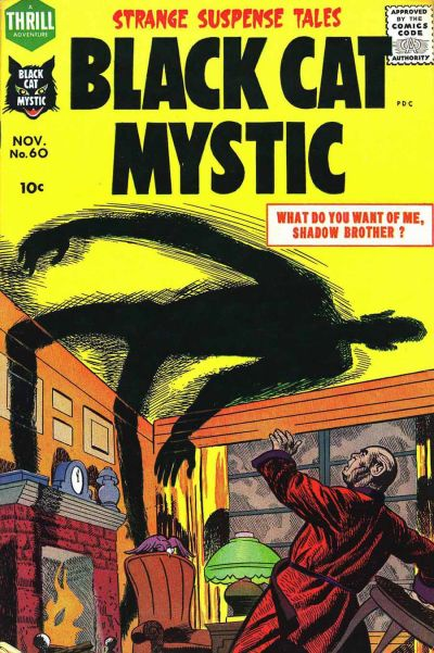 Cover for Black Cat (Harvey, 1946 series) #60