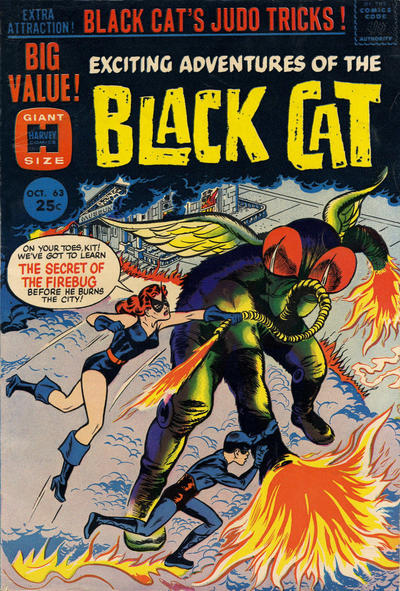 Cover for Black Cat (Harvey, 1962 series) #63