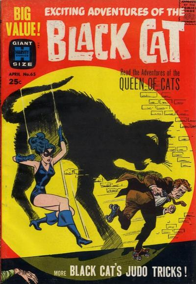 Cover for Black Cat (Harvey, 1962 series) #65
