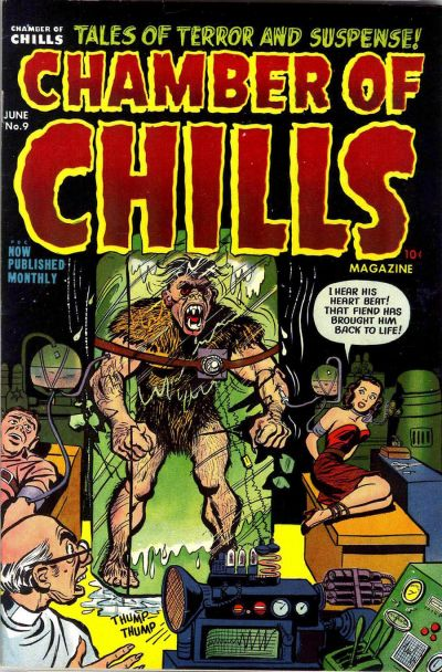 Cover for Chamber of Chills Magazine (Harvey, 1951 series) #9