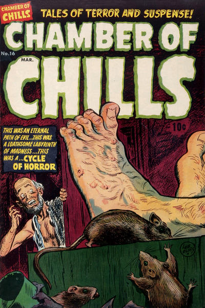 Cover for Chamber of Chills Magazine (Harvey, 1951 series) #16