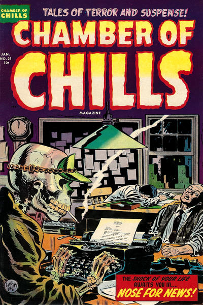Cover for Chamber of Chills Magazine (Harvey, 1951 series) #21