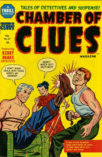 Cover for Chamber of Clues (Harvey, 1955 series) #27