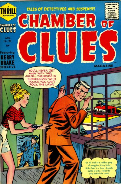 Cover for Chamber of Clues (Harvey, 1955 series) #28