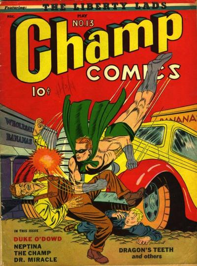 Cover for Champ Comics (Harvey, 1940 series) #13
