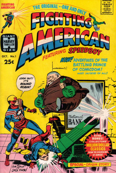 Cover for Fighting American (Harvey, 1966 series) #1