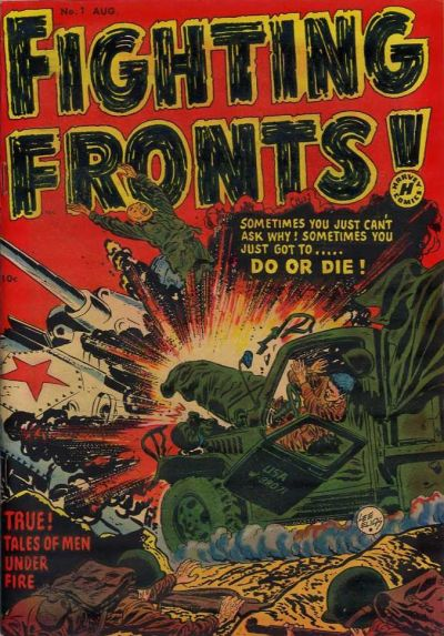 Cover for Fighting Fronts (Harvey, 1952 series) #1