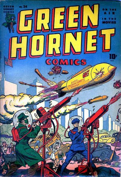 Cover for Green Hornet Comics (Harvey, 1942 series) #24