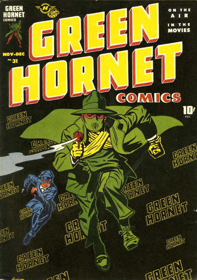 Cover for Green Hornet Comics (Harvey, 1942 series) #31