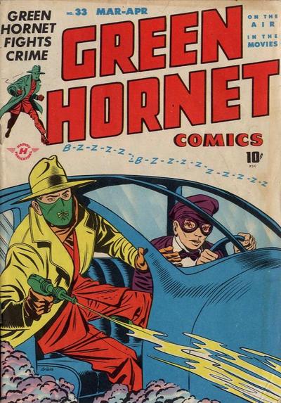Cover for Green Hornet Comics (Harvey, 1942 series) #33