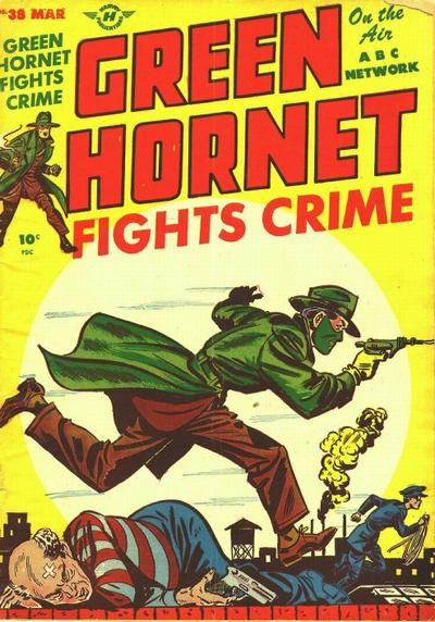 Cover for Green Hornet Comics (Harvey, 1947 series) #38