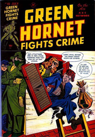 Cover for Green Hornet Comics (Harvey, 1947 series) #40