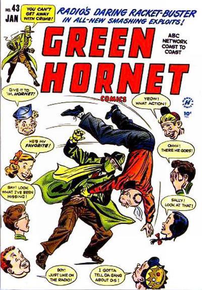 Cover for Green Hornet Comics (Harvey, 1947 series) #43