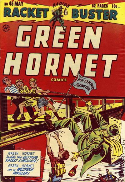 Cover for Green Hornet, Racket Buster (Harvey, 1949 series) #45