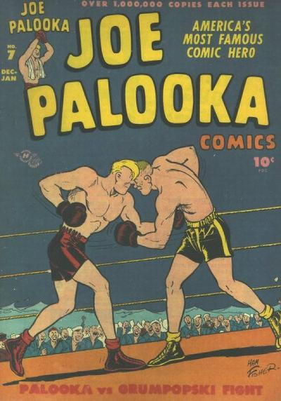 Cover for Joe Palooka Comics (Harvey, 1945 series) #7
