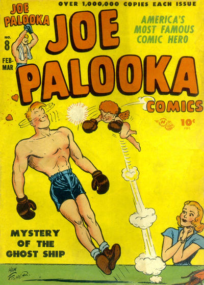 Cover for Joe Palooka Comics (Harvey, 1945 series) #8