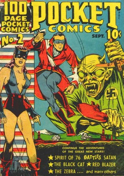 Cover for Pocket Comics (Harvey, 1941 series) #2