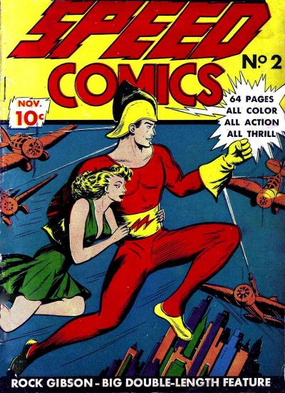 Cover for Speed Comics (Brookwood, 1939 series) #2