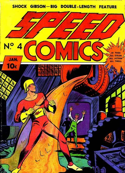 Cover for Speed Comics (Brookwood, 1939 series) #4