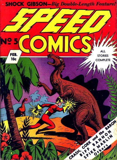 Cover for Speed Comics (Brookwood, 1939 series) #5