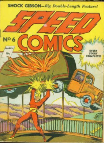 Cover for Speed Comics (Brookwood, 1939 series) #6
