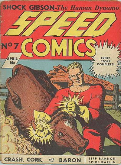 Cover for Speed Comics (Brookwood, 1939 series) #7