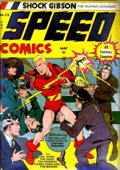 Cover for Speed Comics (Harvey, 1941 series) #13