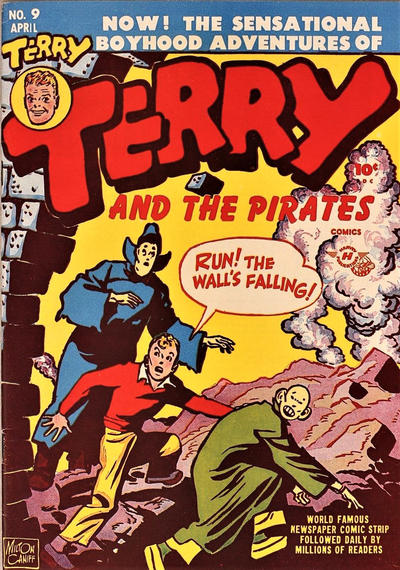 Cover for Terry and the Pirates Comics (Harvey, 1947 series) #9