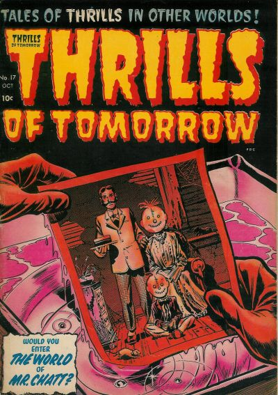 Cover for Thrills of Tomorrow (Harvey, 1954 series) #17