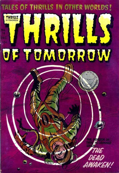 Cover for Thrills of Tomorrow (Harvey, 1954 series) #18