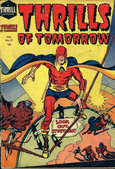 Cover for Thrills of Tomorrow (Harvey, 1954 series) #19
