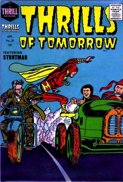 Cover for Thrills of Tomorrow (Harvey, 1954 series) #20