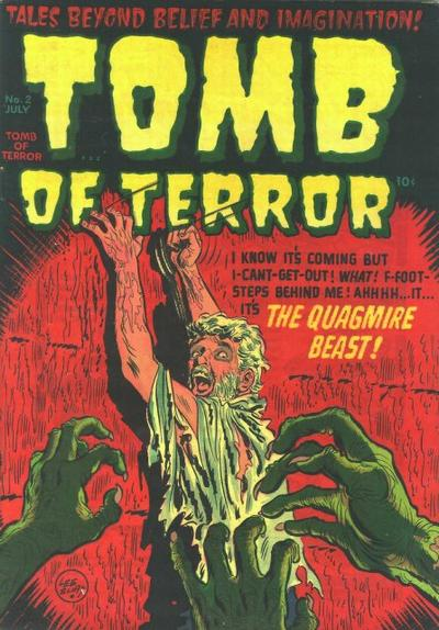 Cover for Tomb of Terror (Harvey, 1952 series) #2