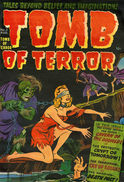 Cover for Tomb of Terror (Harvey, 1952 series) #3