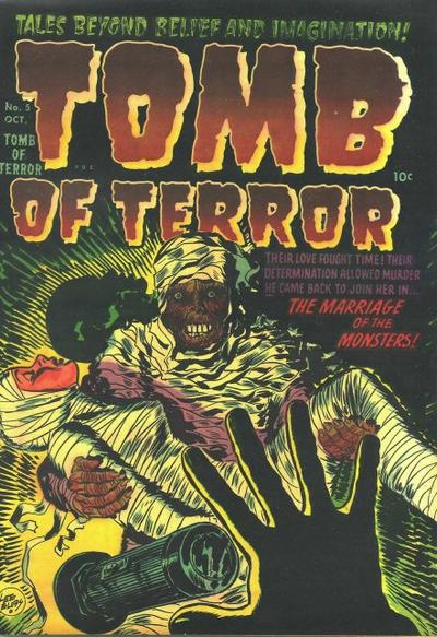 Cover for Tomb of Terror (Harvey, 1952 series) #5