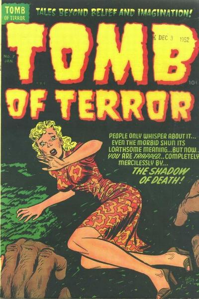 Cover for Tomb of Terror (Harvey, 1952 series) #7