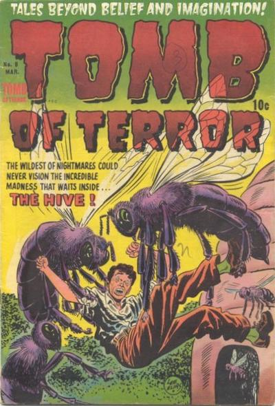Cover for Tomb of Terror (Harvey, 1952 series) #8