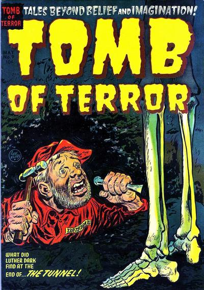 Cover for Tomb of Terror (Harvey, 1952 series) #9