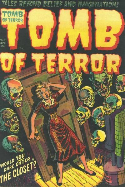 Cover for Tomb of Terror (Harvey, 1952 series) #11