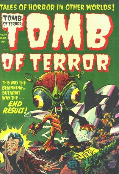 Cover for Tomb of Terror (Harvey, 1952 series) #14