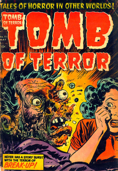 Cover for Tomb of Terror (Harvey, 1952 series) #15