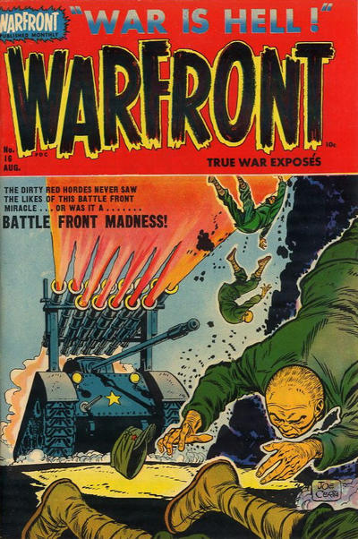 Cover for Warfront (Harvey, 1951 series) #16