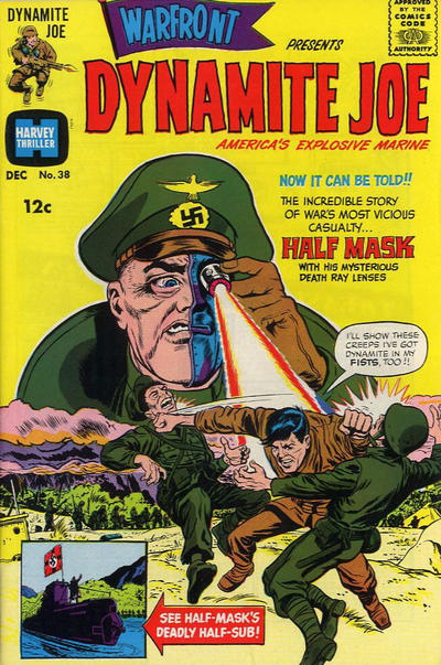 Cover for Warfront (Harvey, 1965 series) #38