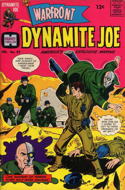 Cover for Warfront (Harvey, 1965 series) #39