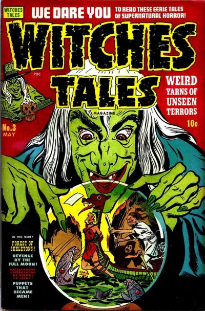 Cover for Witches Tales (Harvey, 1951 series) #3