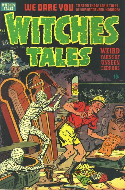 Cover for Witches Tales (Harvey, 1951 series) #4