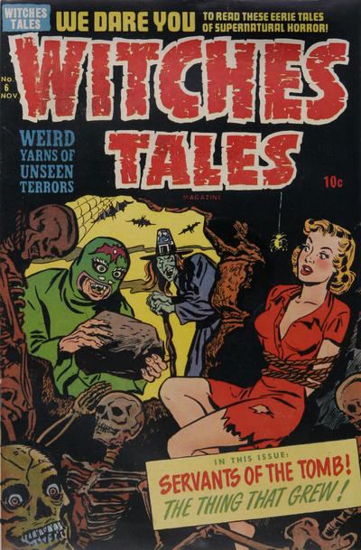 Cover for Witches Tales (Harvey, 1951 series) #6