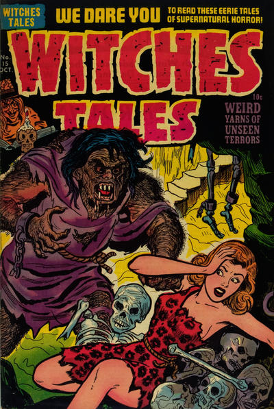 Cover for Witches Tales (Harvey, 1951 series) #15